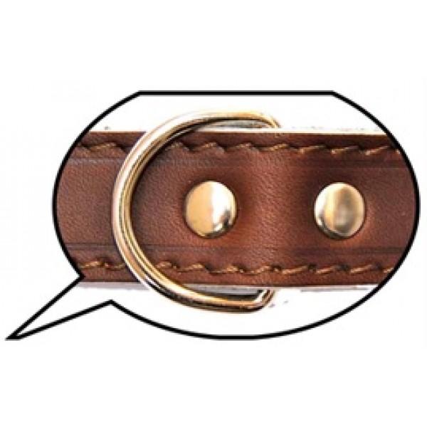 Ballatore - Collare in Pelle di Bufalo mod. 320/55 55x2.5cm