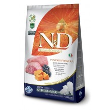 N&D - Grain Free Pumpkin Puppy Medium & Maxi all'Agnello, Zucca e Mirtilli da 12 Kg