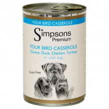 Simpsons Premium Four Bird con Verdure Biologiche da 400gr