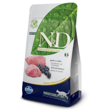 N&D - Grain Free Adult all'Agnello e Mirtillo 1.5 Kg