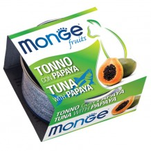 Monge - Fruits con Tonno e Papaya da 80g