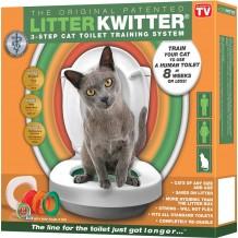 Litter Kwitter - Sistema di Addestramento per Gatti all'uso del WC