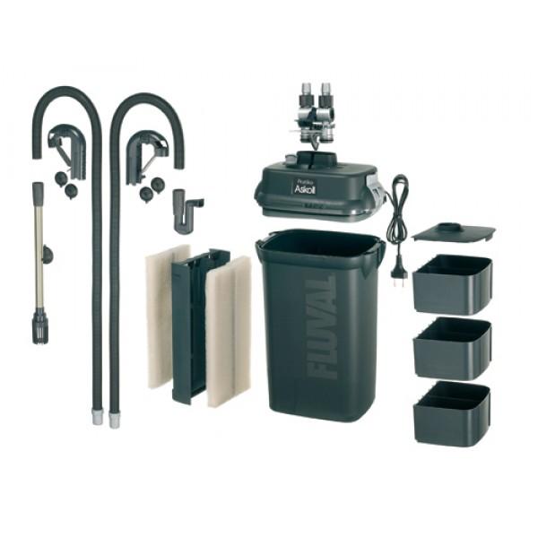 Askoll filtro esterno pratiko new generation 300 lt for Filtro x acquario